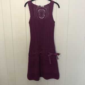 Athleta Crochet Medallion Falcon Dress
